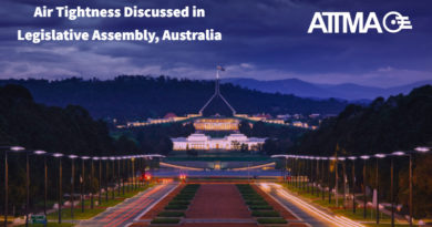 Air Tightness Discussed in Legislative Assembly, Australia