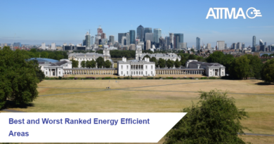 Energy Efficiency Ranked in England and Wales