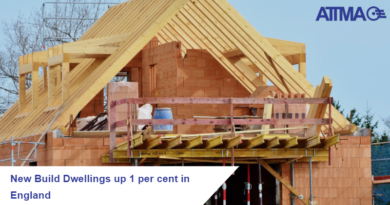 New-Build Dwellings up by 1 per cent in England