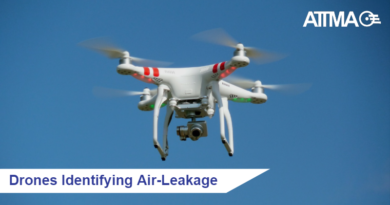 Drones Identifying Air-Leakage