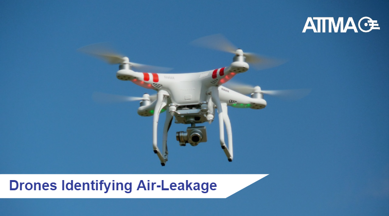 Drones Identifying Air-Leakage