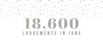 Record Lodgements in June