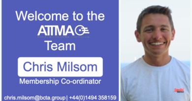 ATTMA Welcomes Chris Milsom, Membership Co-ordinator