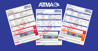 Minor Changes to ATTMA Lodgement Certificates
