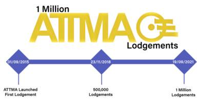 ATTMA Reaches 1 Million Lodgements