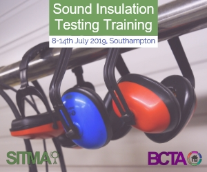 Sound Insulation Testing Training - 2019.07.08