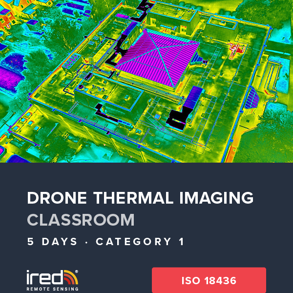 ired drone thermal imaging cat 1 hub