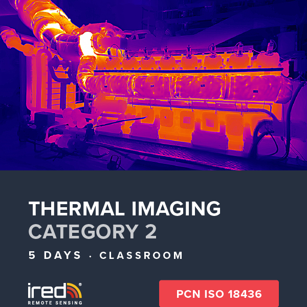 ired thermal imaging cat 2 hub