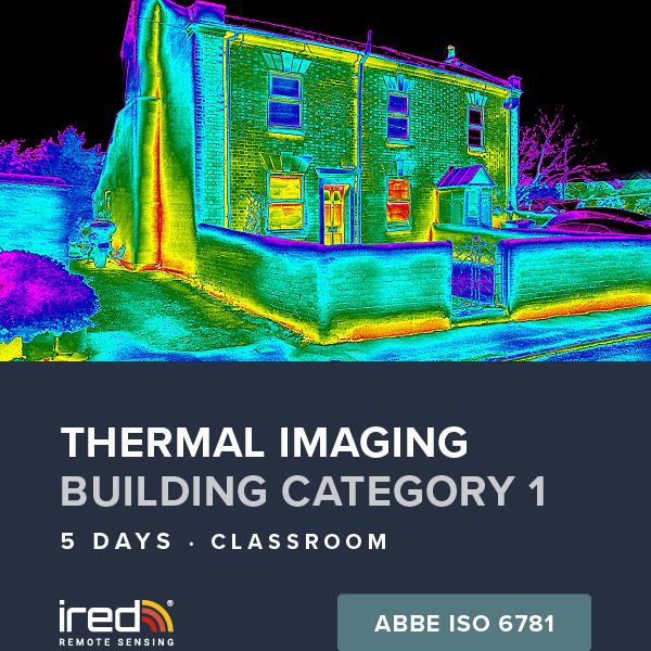 ired thermal imaging building training cat 1 hub