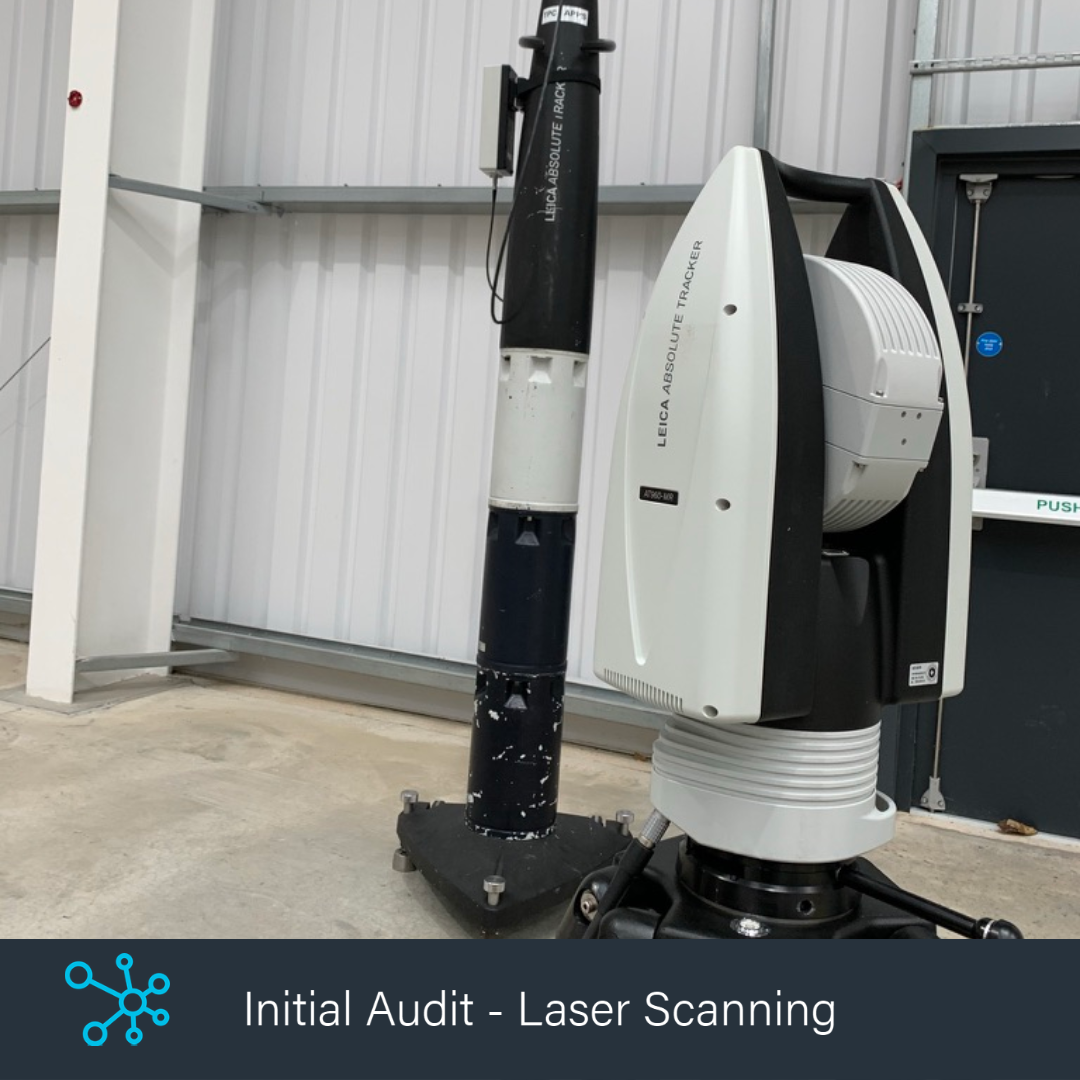 Initial Audit Laser Scanning Hub