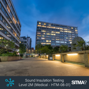 SITMA Sound Insulation L2 Medical Training Hub