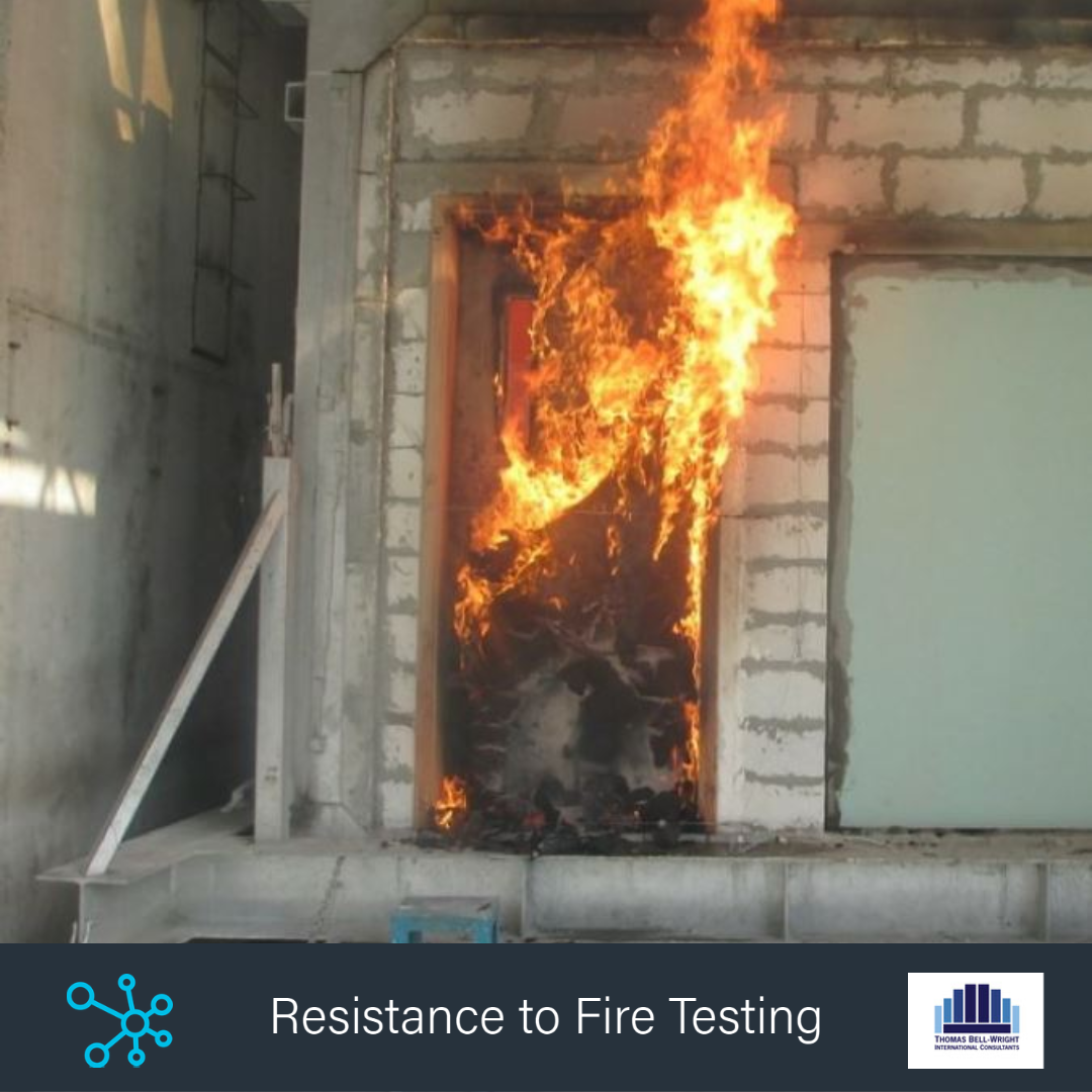 Resistance to Fire Testing Training Thomas Bell Wright